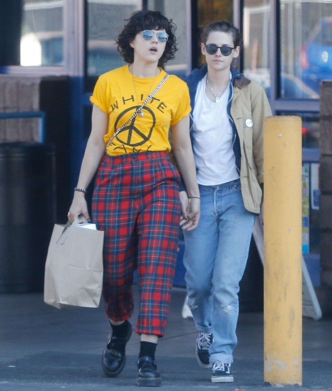 Kristen Stewart and Soko out and about in Los Angeles