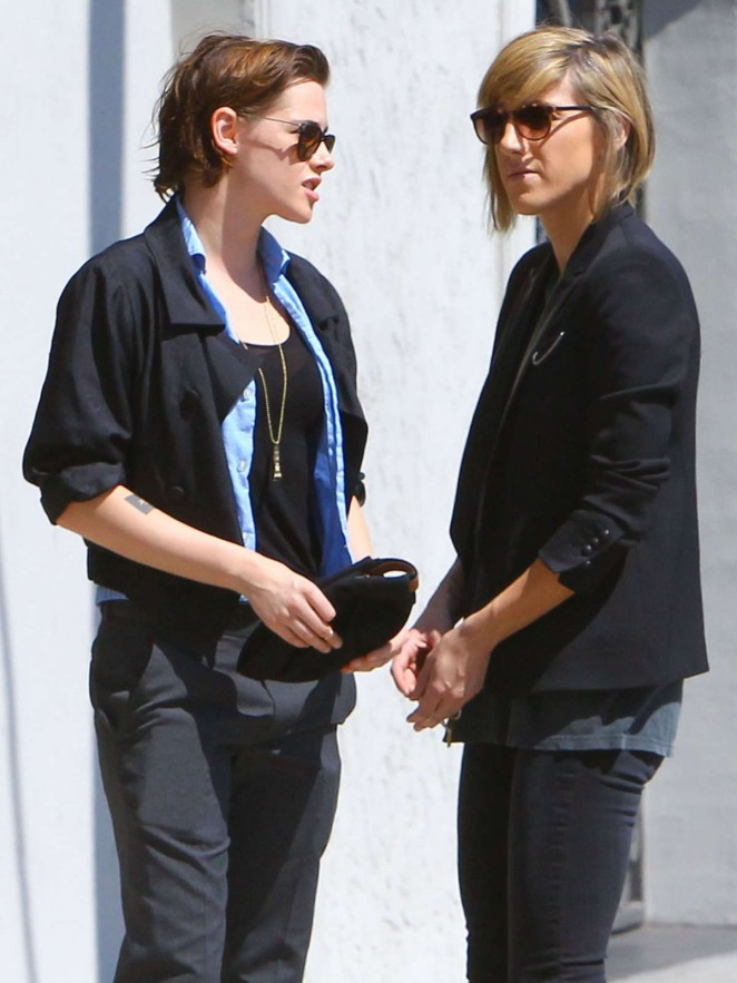 Kristen Stewart and Soko out in Los Angeles