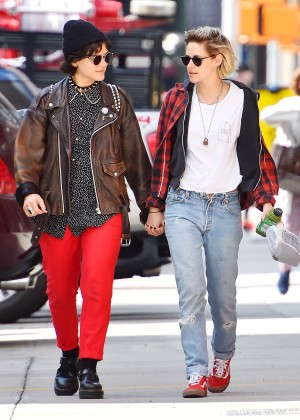 Kristen Stewart and SoKo Out in New York City