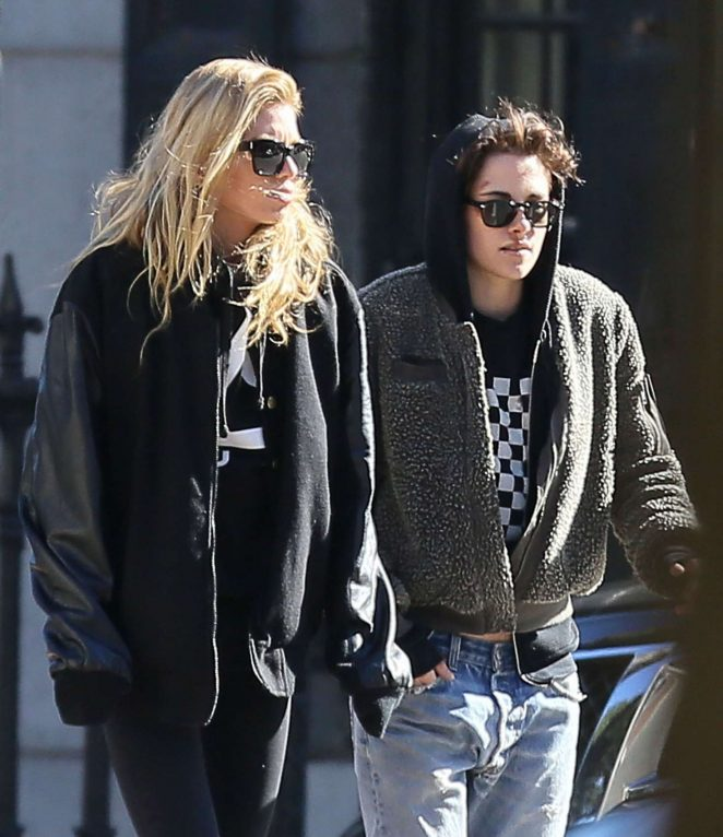 Kristen Stewart and Stella Maxwell out and about in Savannah