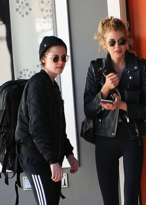 Kristen Stewart and Stella Maxwell Out in Hollywood