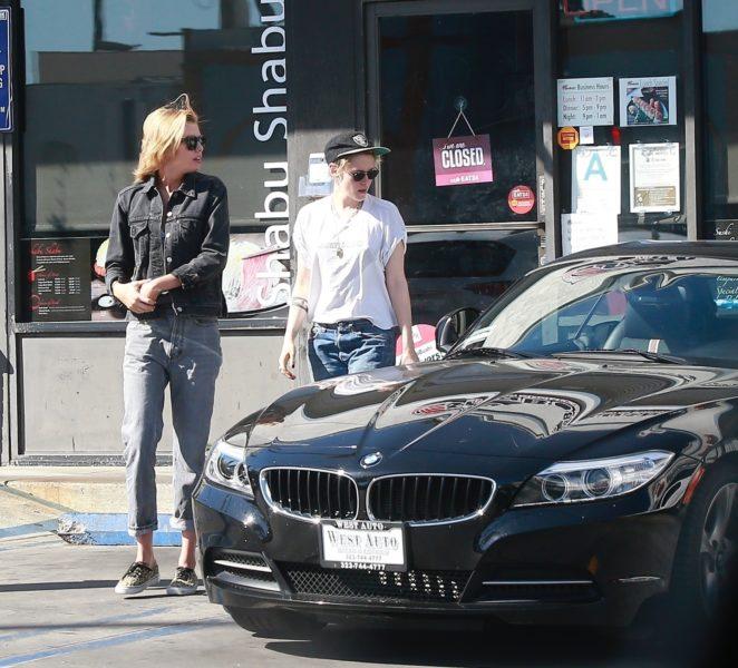 Kristen Stewart and Stella Maxwell - Seen together in LA