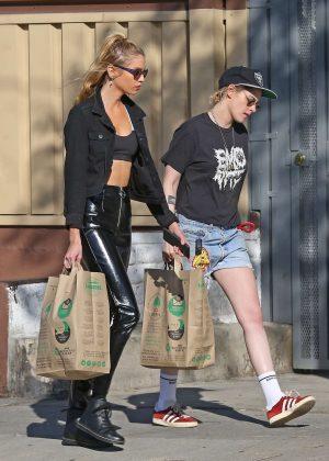 Kristen Stewart and Stella Maxwell - Shopping in Los Feliz