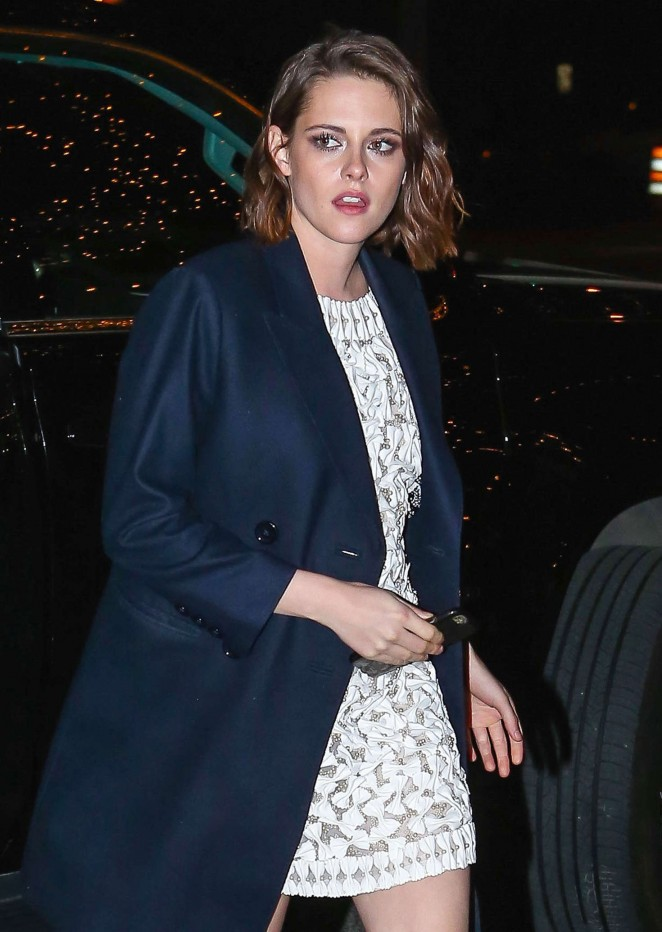 Kristen Stewart - Arriving at the Bowery Hotel in NY
