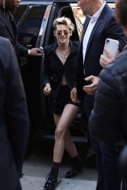 Kristen Stewart - arriving to a press conference for her new movie 'Seberg' in Toronto