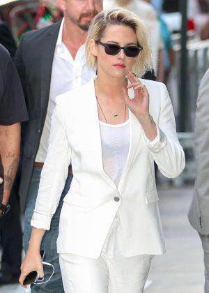 Kristen Stewart - Arriving to ABC Studios in New York City