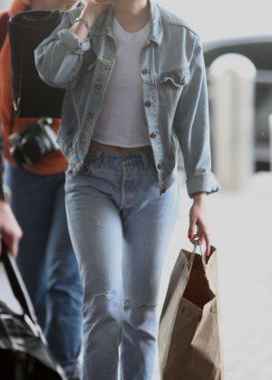 Kristen Stewart at LAX Airport in Los Angeles