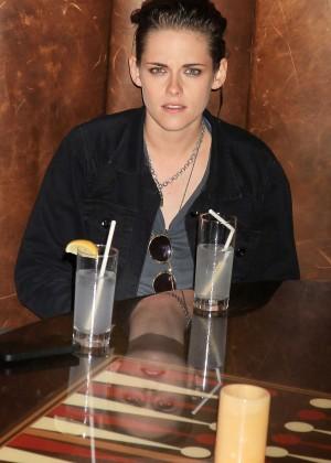 Kristen Stewart at the Roxy Hotel in New York City