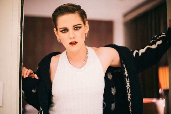 Kristen Stewart by Lindsey Byrnes for Vogue's Photo Diary (February 2018)