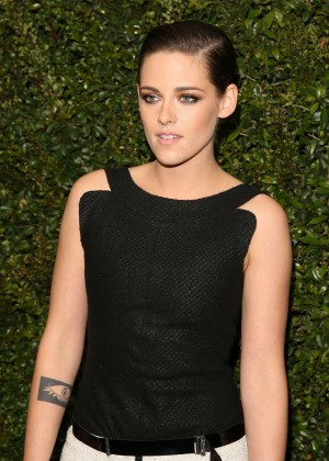 Kristen Stewart - Chanel and Charles Finch Pre-Oscar Dinner in Los Angeles