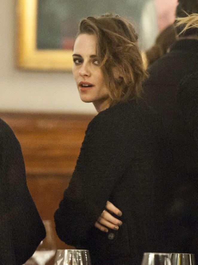 Kristen Stewart - Chanel Dinner in Rome