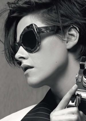 Kristen Stewart - Chanel Eyewear Collection 2015