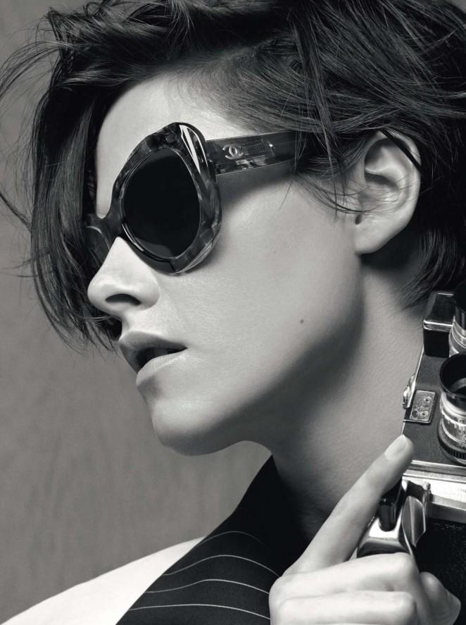 Kristen Stewart – Chanel Eyewear Collection 2015