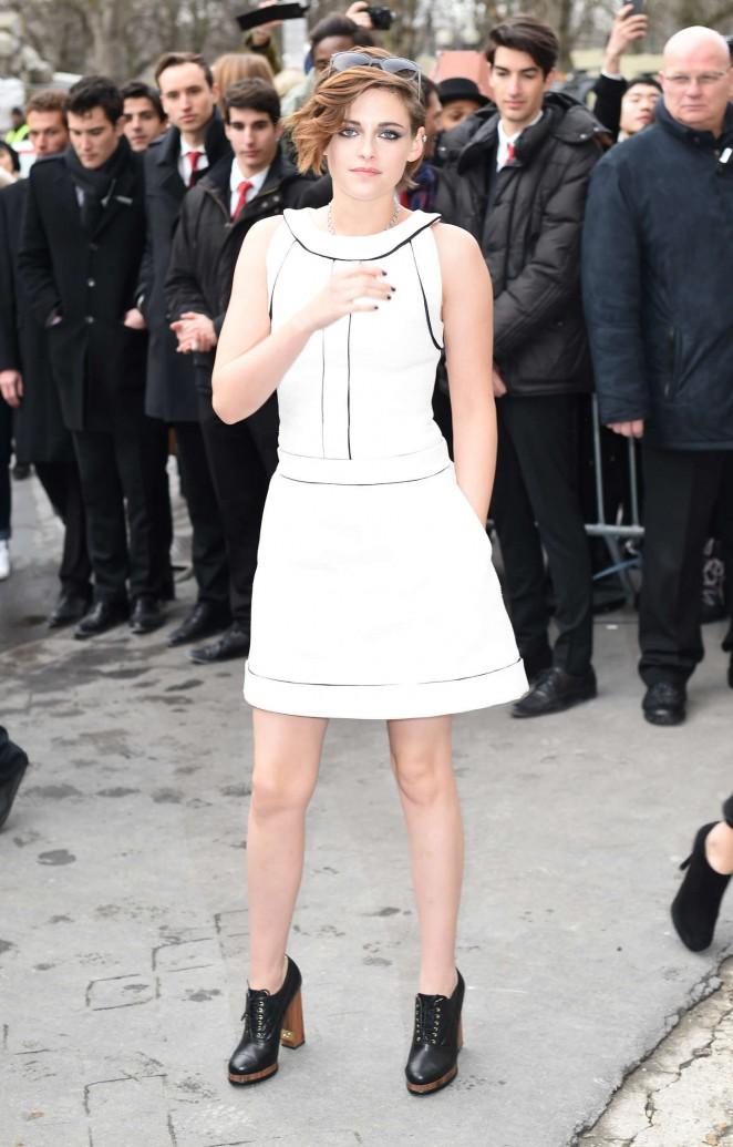 Kristen Stewart Chanel Fashion Show 2015 15 Gotceleb