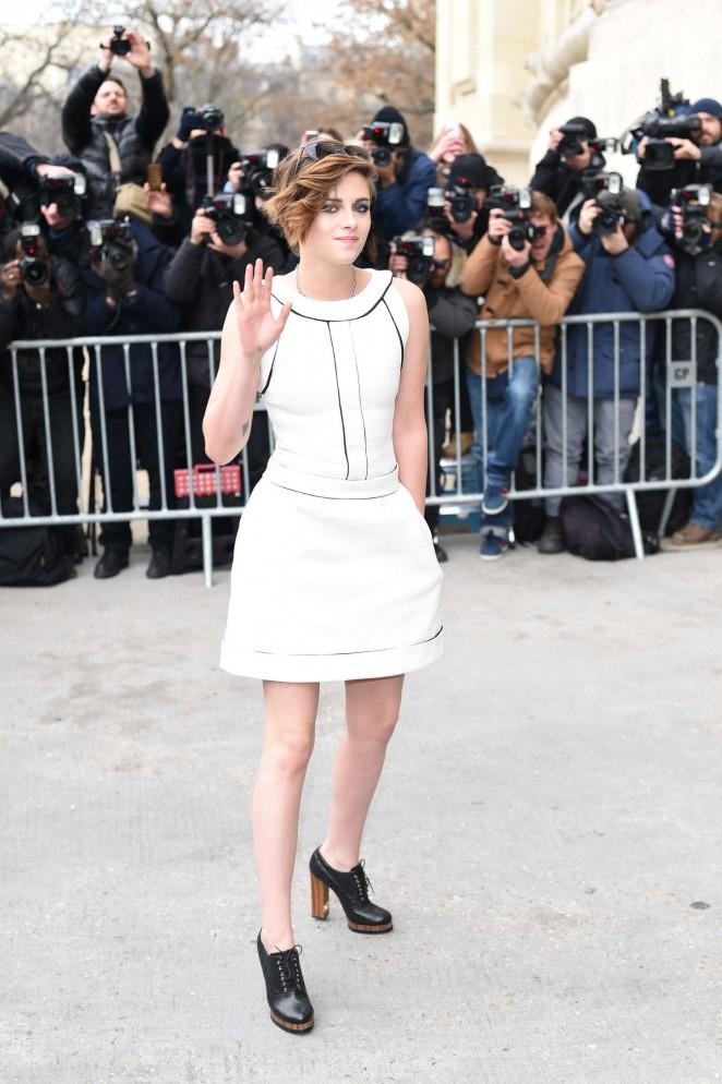 Kristen Stewart Chanel Fashion Show 2015 16 Gotceleb