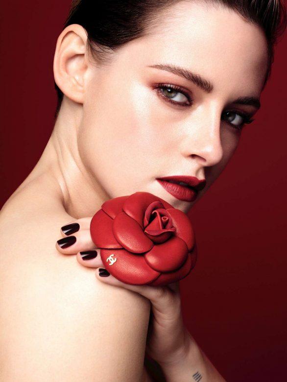 Kristen Stewart - Chanel 'Rouge Allure Camelia' Campaign Spring 2020
