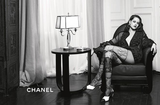Kristen Stewart - Chanel's 'Paris in Rome' Campaign 2016