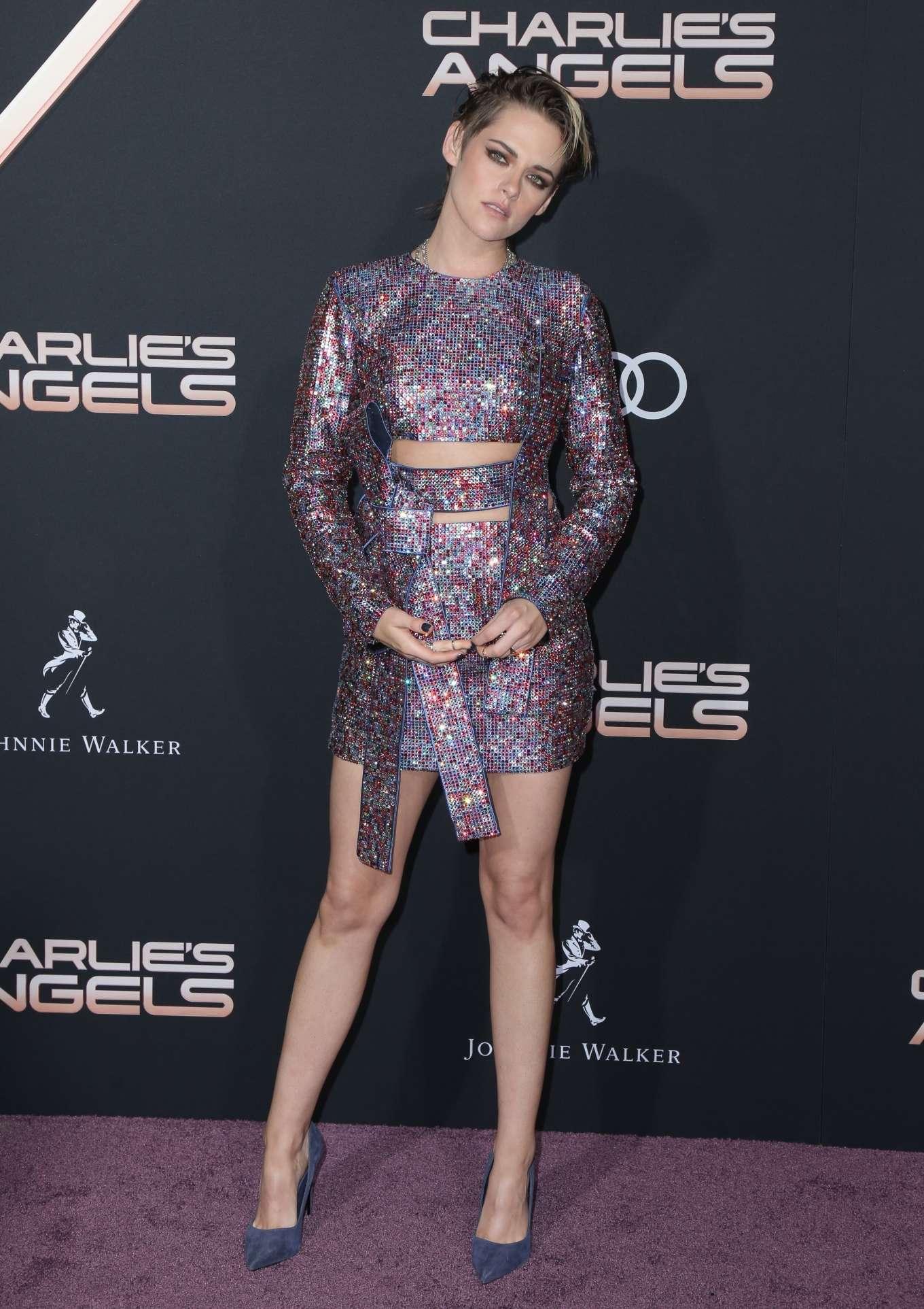 Kristen Stewart 2019 : Kristen Stewart – Charlies Angels Premiere in Westwood-18