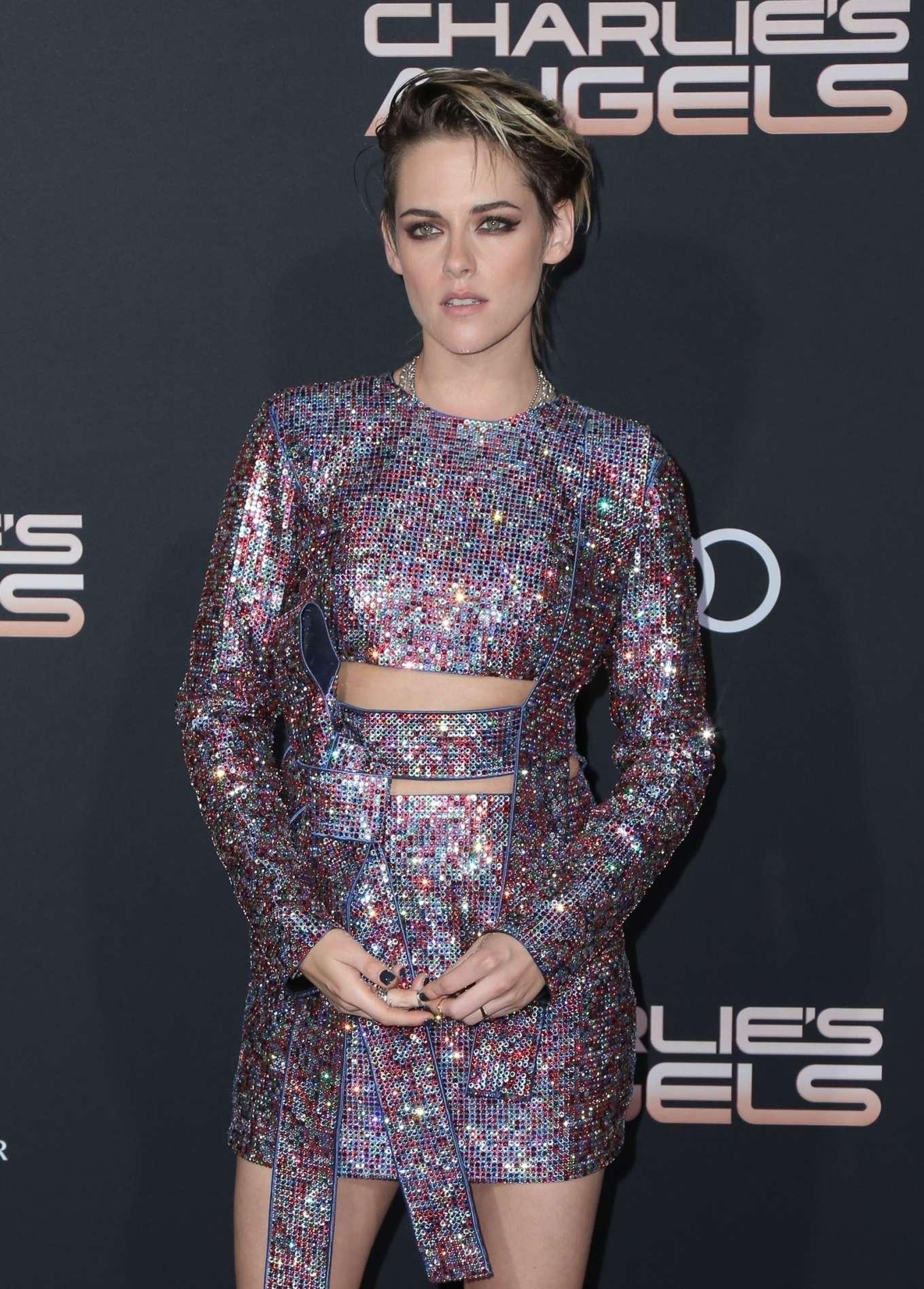 Kristen Stewart 2019 : Kristen Stewart – Charlies Angels Premiere in Westwood-22
