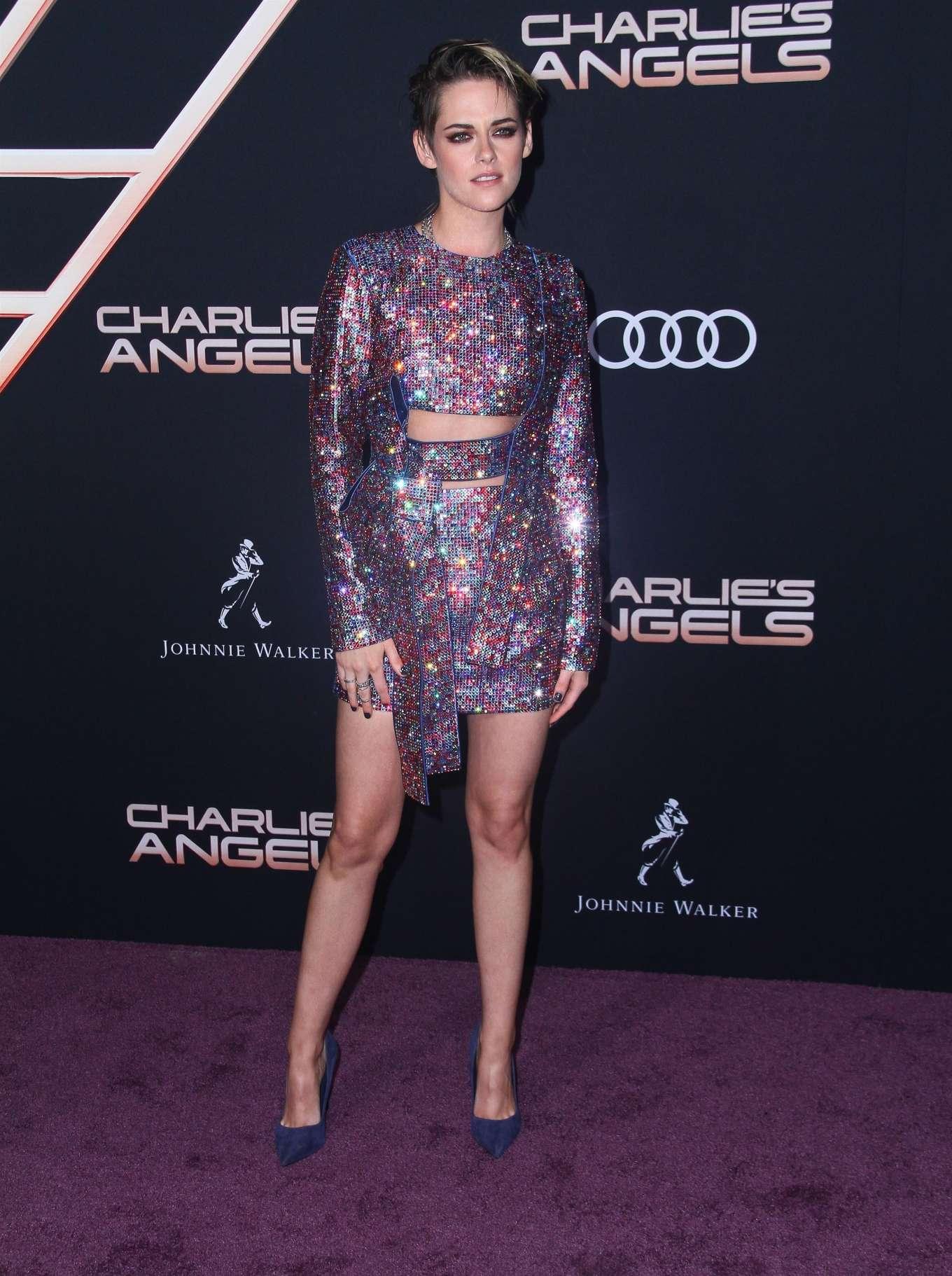 Kristen Stewart 2019 : Kristen Stewart – Charlies Angels Premiere in Westwood-23