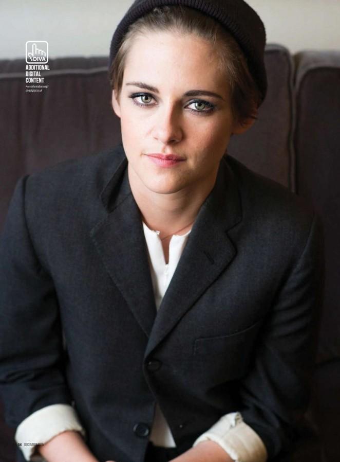 Kristen Stewart - DIVA UK Magazine (December 2015)