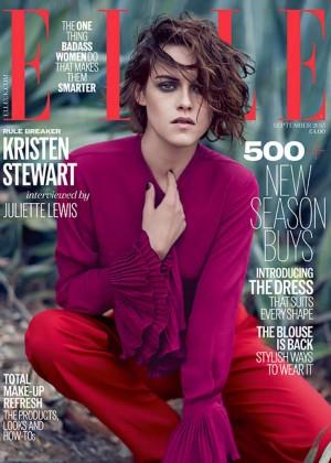 Kristen Stewart - Elle UK Cover (September 2015)