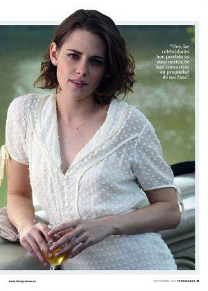 Kristen Stewart - Fotogramas Magazine (September 2016)