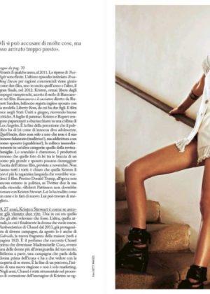 Kristen Stewart - Grazia Italy Magazine (November 2017)