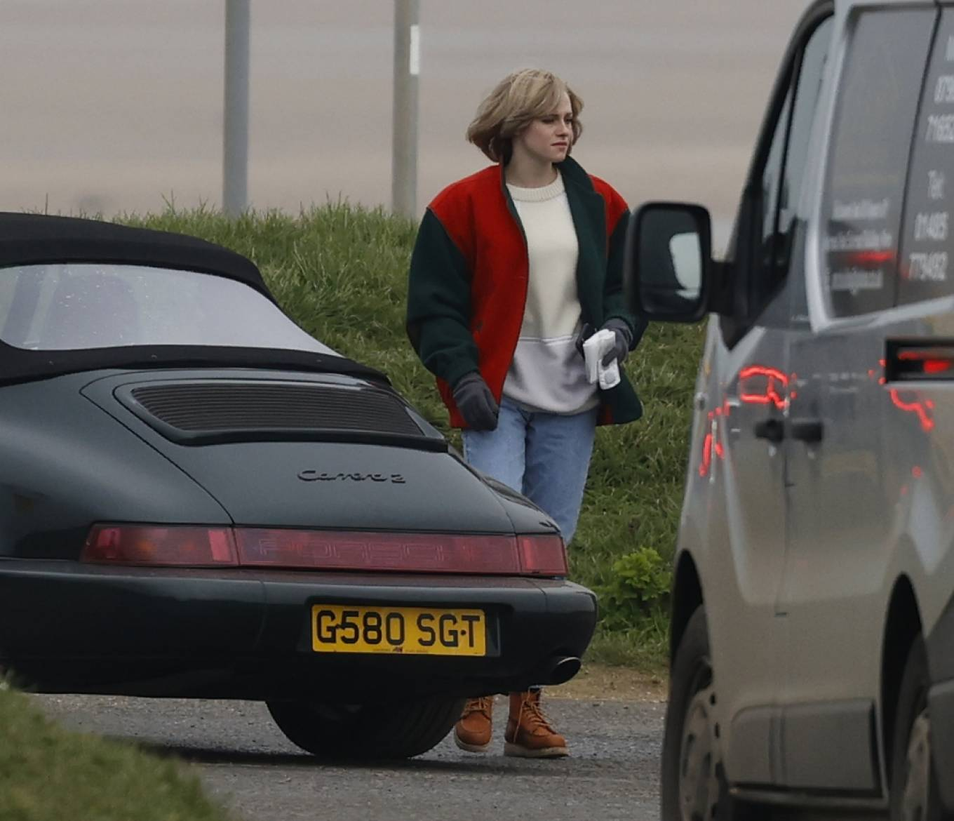 Kristen Stewart - Is seen in character as Princess Diana for a new film in Norfolk
