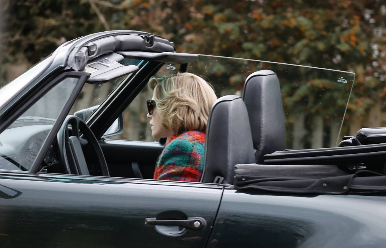 Kristen Stewart 2021 : Kristen Stewart – Is seen in character as Princess Diana for a new film in Norfolk-23