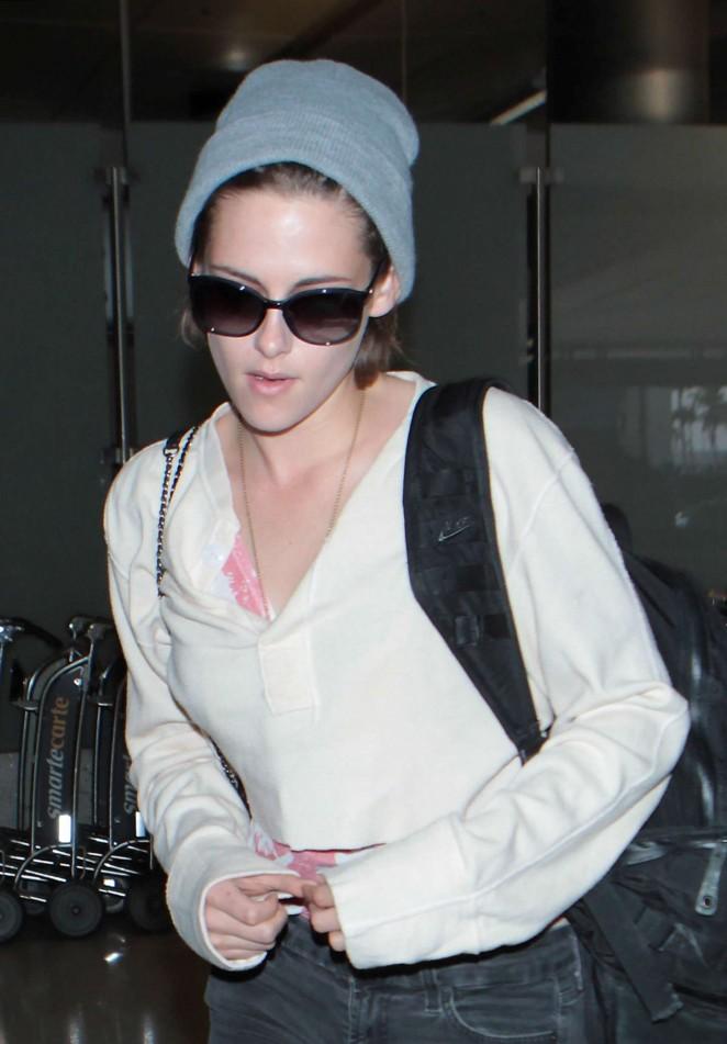 Kristen Stewart - LAX airport in LA