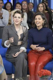 Kristen Stewart, Naomi Scott and Ella Balinska - Good Morning America in NYC
