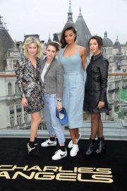 Kristen Stewart Naomi Scott Elizabeth Banks and Ella Balinska - 'Charlie's Angels' Photocall in London