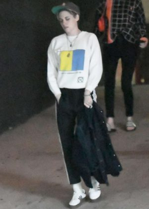Kristen Stewart - Night out in Los Angeles