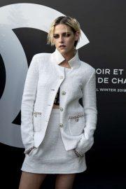 Kristen Stewart - Noir et Blanc de Chanel FW 2019 Makeup Collection in Paris