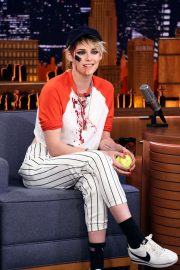 Kristen Stewart - On 'The Tonight Show with Jimmy Fallon' in NY