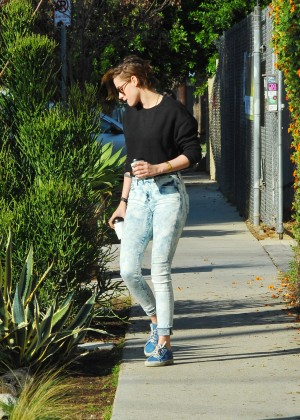 Kristen Stewart Style - Out and about in LA