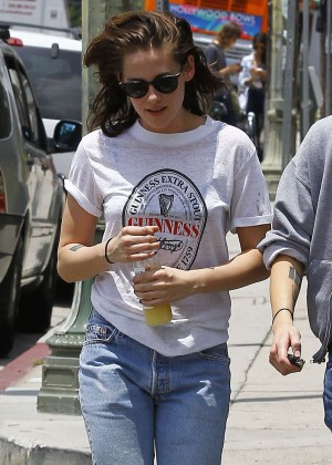 Kristen Stewart - Out and about in Silverlake