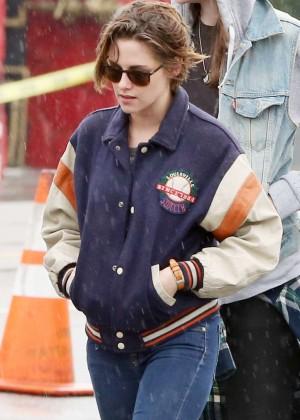 Kristen Stewart with friends Out in Los Feliz