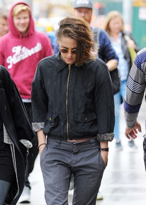 Kristen Stewart - Out in New York