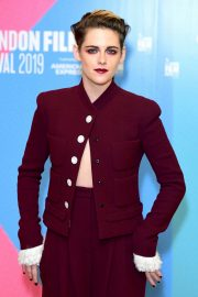 Kristen Stewart - 'Seberg' Premiere at 2019 BFI London Film Festival