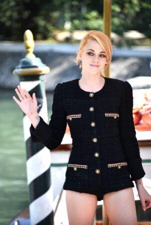 Kristen Stewart - Seen arriving at the Hotel Excelsior for Venice Film Festival 2021