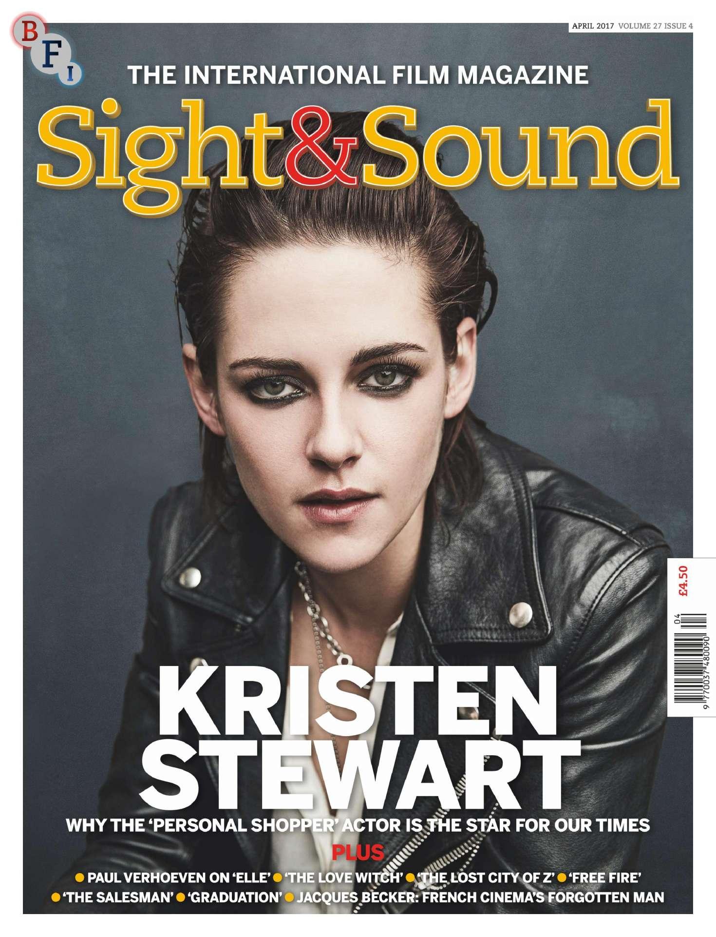 Kristen Stewart Sight And Sound Magazine April 2017