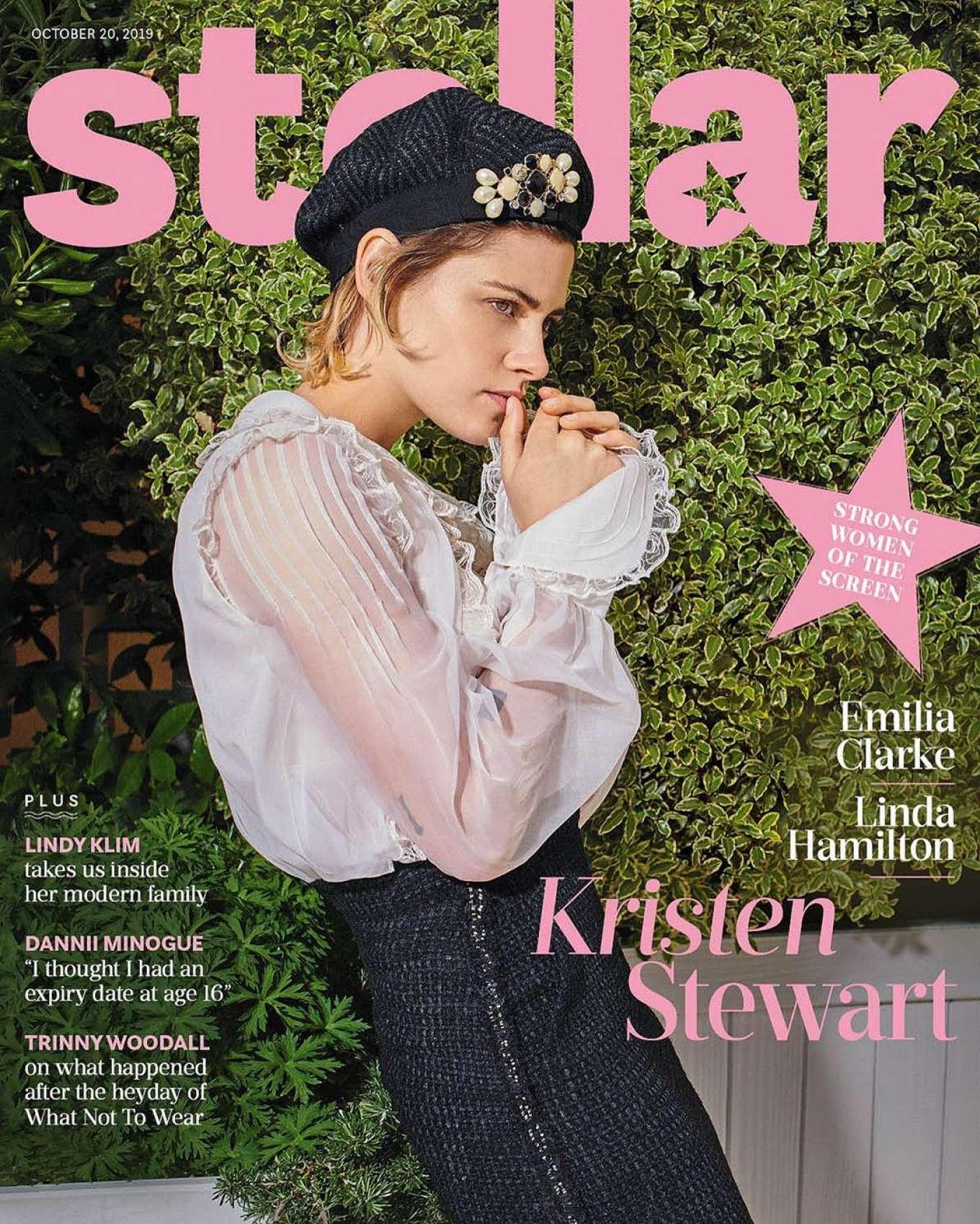 Kristen Stewart - Stellar Cover Magazine (October 2019)