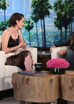 Kristen Stewart - The Ellen DeGeneres Show in Burbank