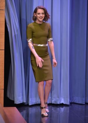 Kristen Stewart - 'The Tonight Show Starring Jimmy Fallon' in NYC