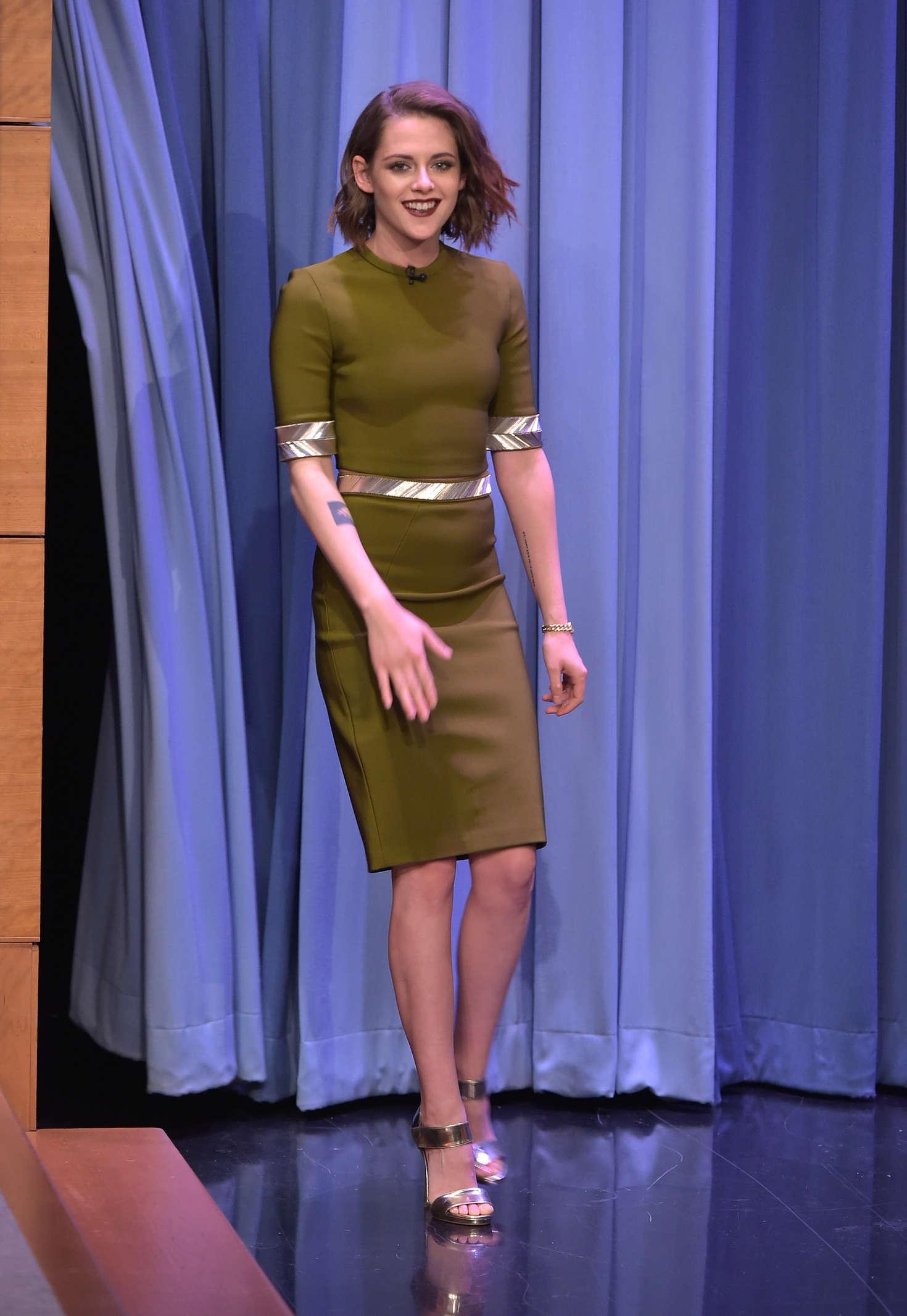 Kristen Stewart The Tonight Show Starring Jimmy Fallon