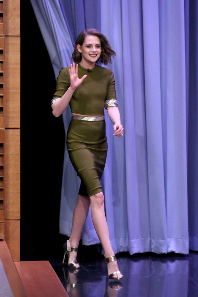 Kristen Stewart: The Tonight Show Starring Jimmy Fallon ...