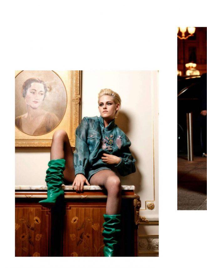 Kristen Stewart - Vogue France Magazine (December 2016)