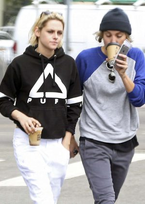 Kristen Stewart with Alicia Cargile Out in Silver Lake